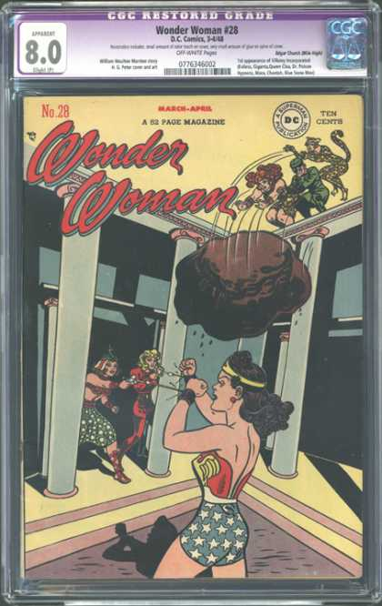 CGC Graded Comics - Wonder Woman #28 (CGC)