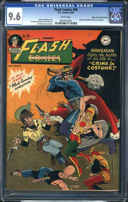 CGC Graded Comics - Flash Comics #98 (CGC)