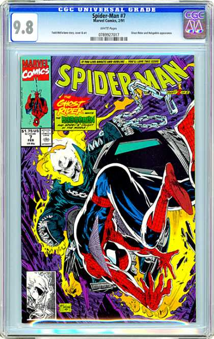 CGC Graded Comics - Spider-Man #7 (CGC)