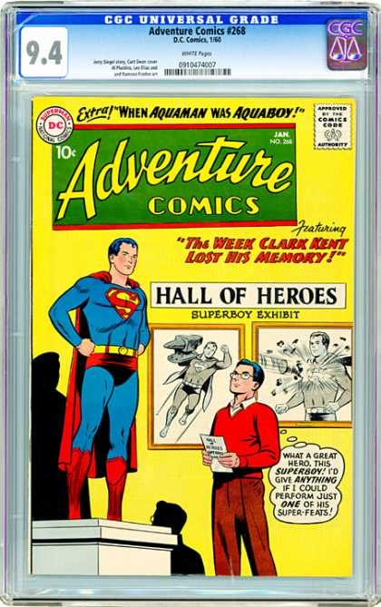 CGC Graded Comics - Adventure Comics #268 (CGC)