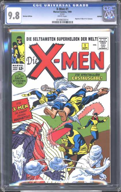 CGC Graded Comics - X-Men #1 (CGC)