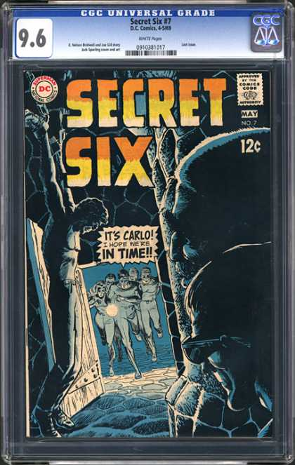 CGC Graded Comics - Secret Six #7 (CGC)