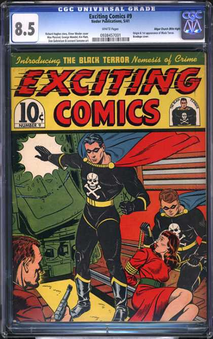 CGC Graded Comics - Exciting Comics #9 (CGC)