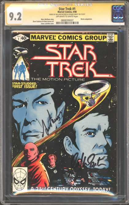 CGC Graded Comics - Star Trek #1 (CGC)