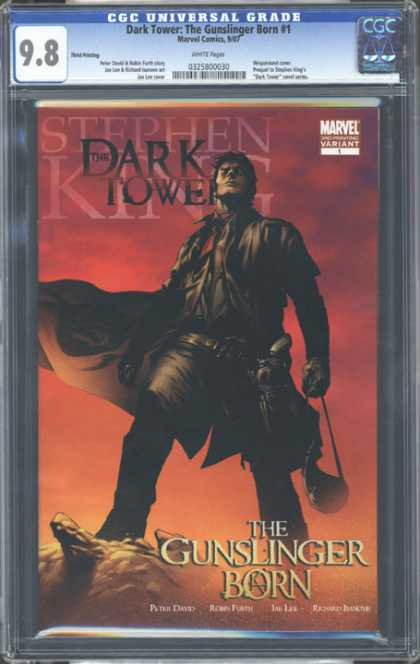 CGC Graded Comics - Dark Tower: The Gunslinger Born #1 (CGC) - Dark - Born - 98 - Gun - Tower
