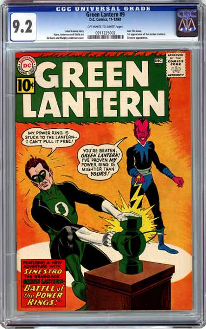 CGC Graded Comics - Green Lantern #9 (CGC)