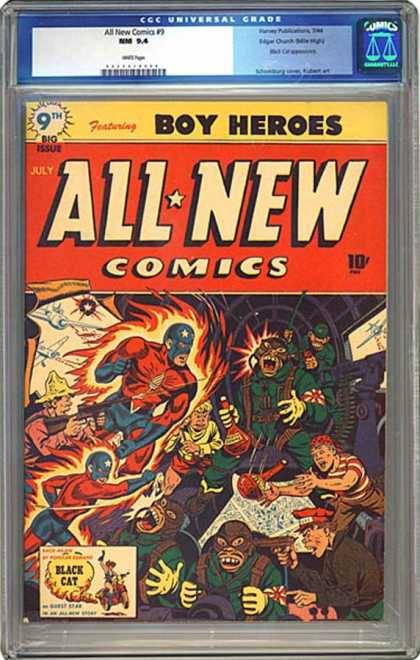 CGC Graded Comics - All New Comics #9 (CGC)