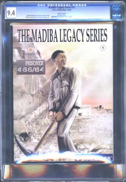 CGC Graded Comics - Madiba Legacy Series #5 (CGC) - Man - Prisoner - Stone - House - The Madiba Legacy Series