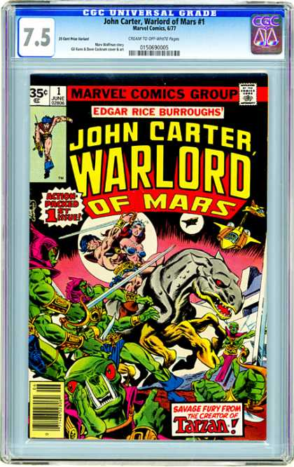 CGC Graded Comics - John Carter, Warlord of Mars #1 (CGC)