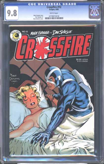 CGC Graded Comics - Crossfire #12 (CGC)