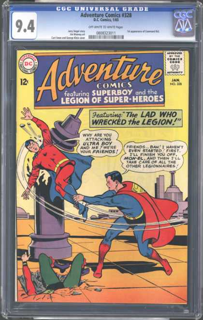 CGC Graded Comics - Adventure Comics #328 (CGC)