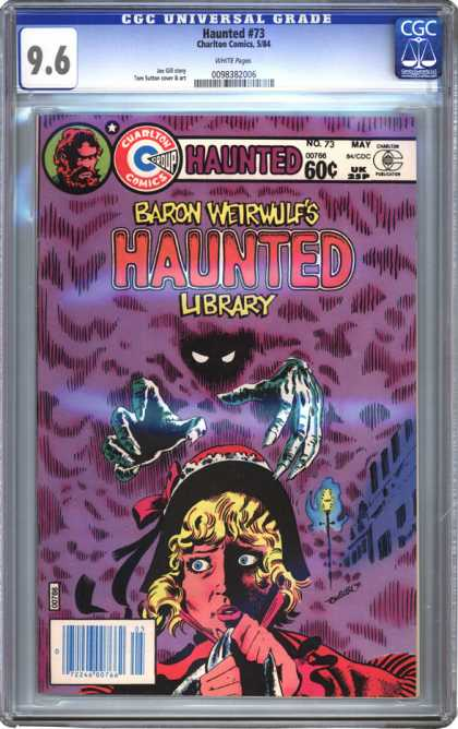 CGC Graded Comics - Haunted #73 (CGC)