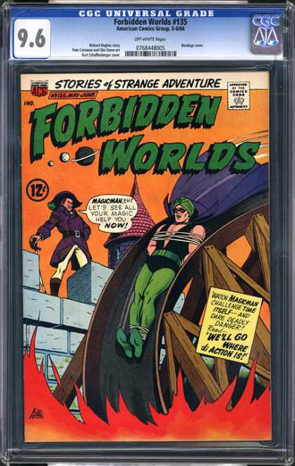 CGC Graded Comics - Forbidden Worlds #135 (CGC)