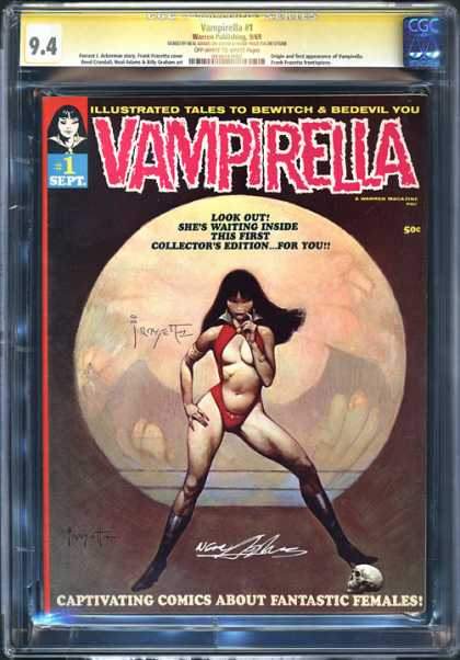 CGC Graded Comics - Vampirella #1 (CGC)