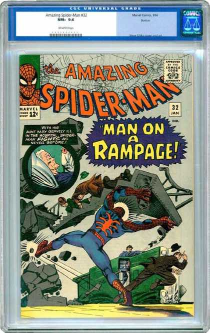 CGC Graded Comics - Amazing Spider-Man #32 (CGC)
