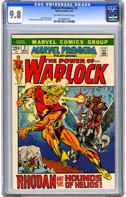 CGC Graded Comics - Marvel Premiere #2 (CGC)