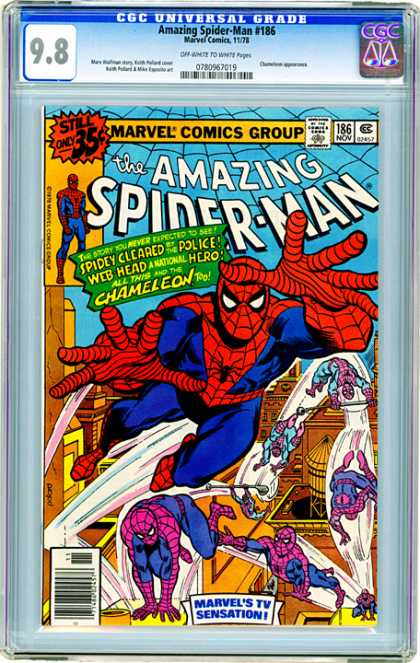 CGC Graded Comics - Amazing Spider-Man #186 (CGC)