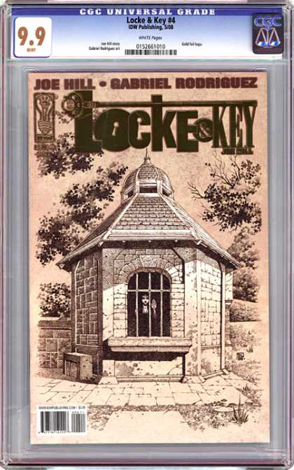 CGC Graded Comics - Locke & Key #4 (CGC)
