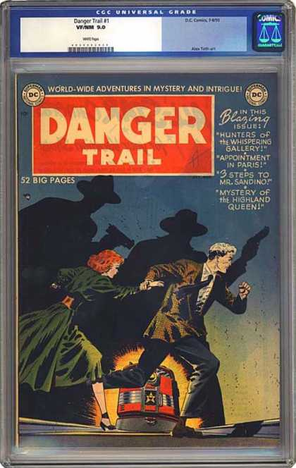 CGC Graded Comics - Danger Trail #1 (CGC)
