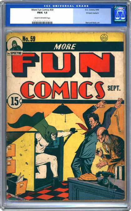 CGC Graded Comics - More Fun Comics #59 (CGC)
