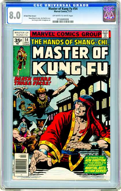 CGC Graded Comics - Master of Kung Fu #54 (CGC)