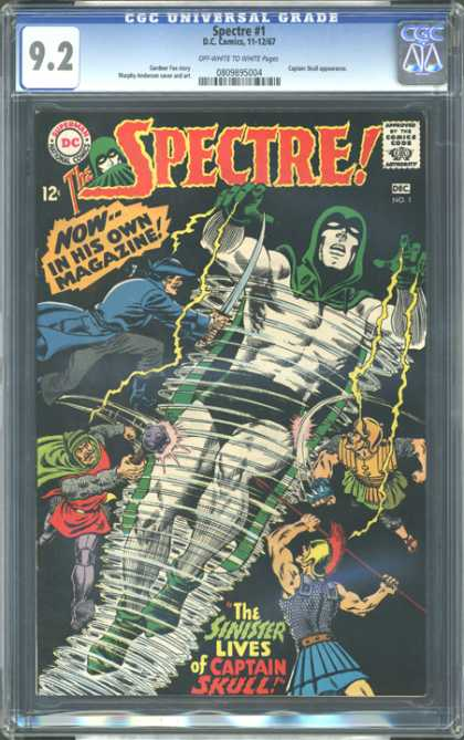 CGC Graded Comics - Spectre #1 (CGC) - Storm - Wind - Thunder - Maelstrom - Killing