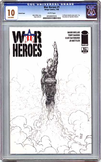 CGC Graded Comics - War Heroes #1 (CGC)