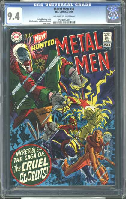 CGC Graded Comics - Metal Men #36 (CGC)