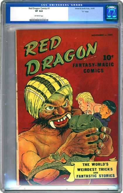 CGC Graded Comics - Red Dragon Comics #1 (CGC)