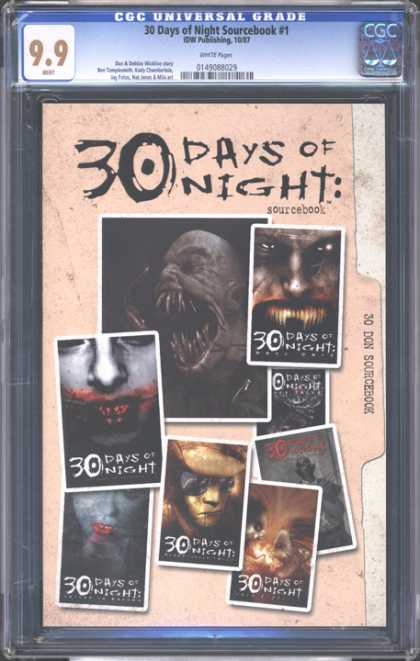 CGC Graded Comics - 30 Days of Night Sourcebook #1 (CGC)