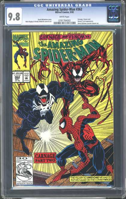 CGC Graded Comics - Amazing Spider-Man #362 (CGC)