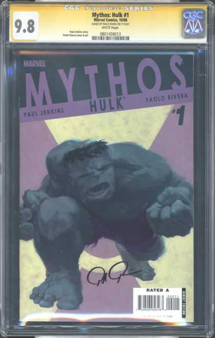 CGC Graded Comics - Mythos: Hulk #1 (CGC)