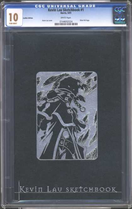 CGC Graded Comics - Kevin Lau Sketchbook #1 (CGC) - Cgc Hologram - Gem Mint - Ten - Sketchbook - Kevin Lau