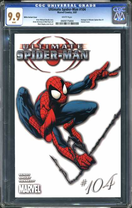 CGC Graded Comics - Ultimate Spider-Man #104 (CGC)