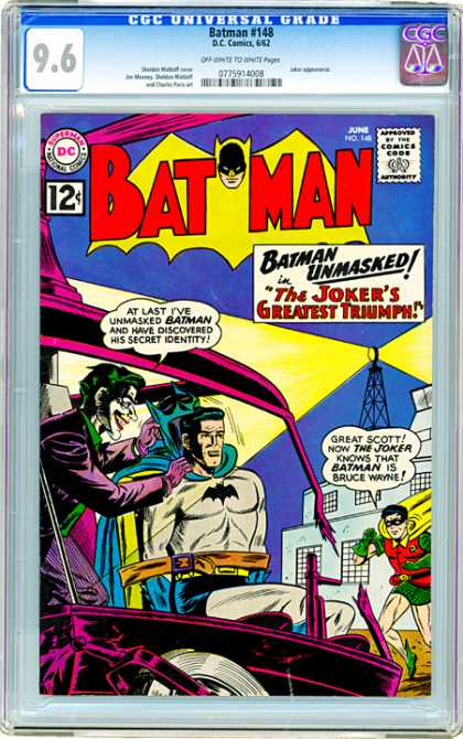 CGC Graded Comics - Batman #148 (CGC)