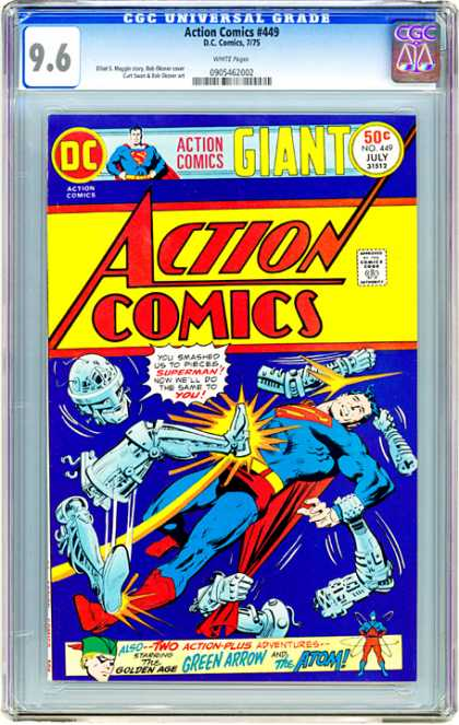 CGC Graded Comics - Action Comics #449 (CGC)