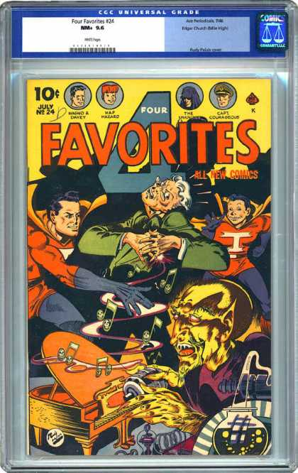 CGC Graded Comics - Four Favorites #24 (CGC)