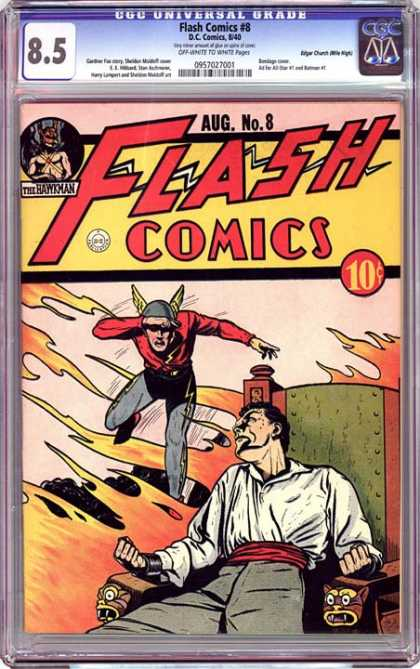CGC Graded Comics - Flash Comics #8 (CGC)
