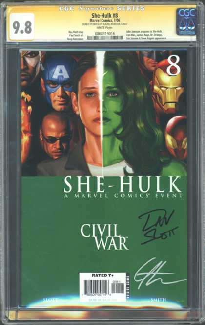 CGC Graded Comics - She-Hulk #8 (CGC)