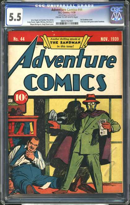 CGC Graded Comics - Adventure Comics #44 (CGC)
