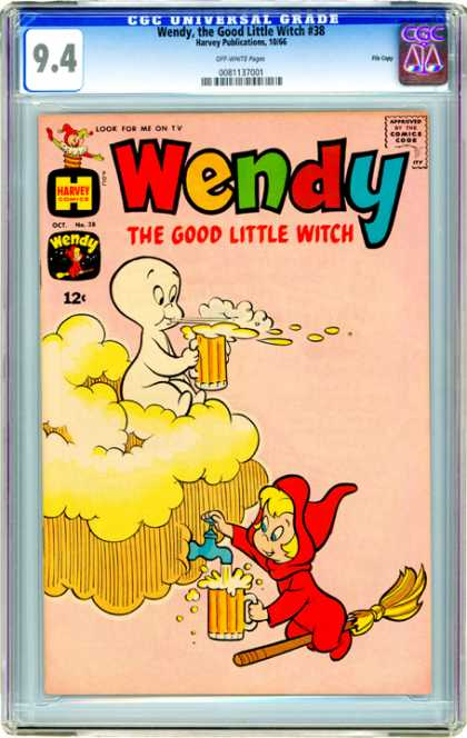 CGC Graded Comics - Wendy, the Good Little Witch #38 (CGC)