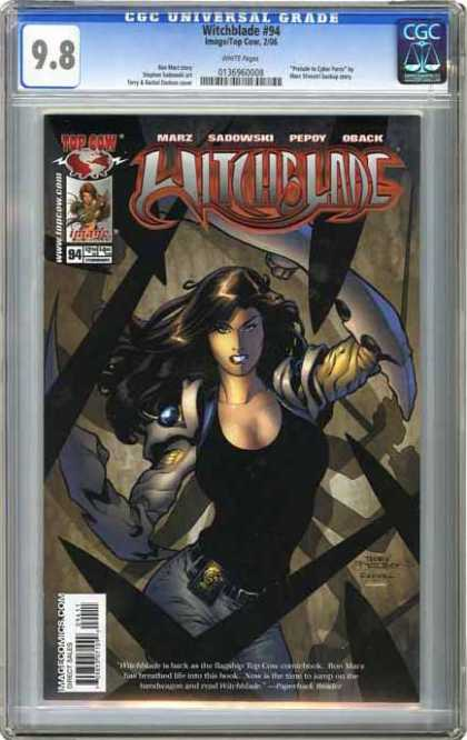CGC Graded Comics - Witchblade #94 (CGC)