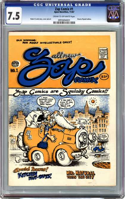 CGC Graded Comics - Zap Comix #1 (CGC)