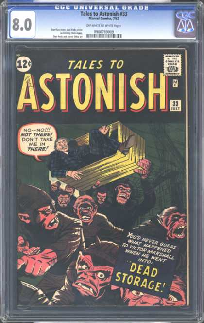 CGC Graded Comics - Tales to Astonish #33 (CGC)
