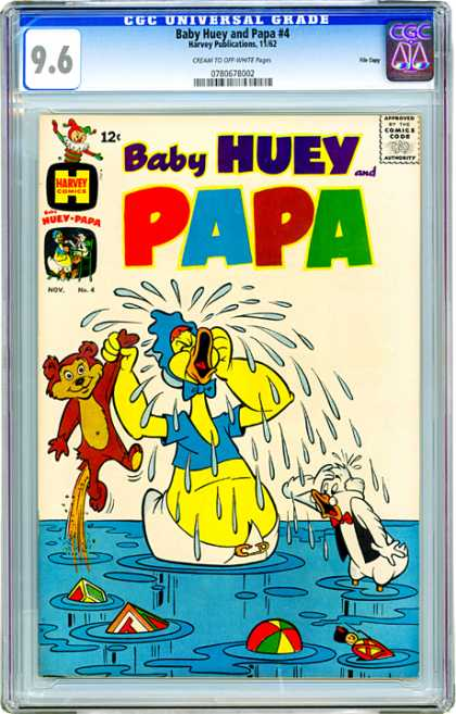 CGC Graded Comics - Baby Huey and Papa #4 (CGC)