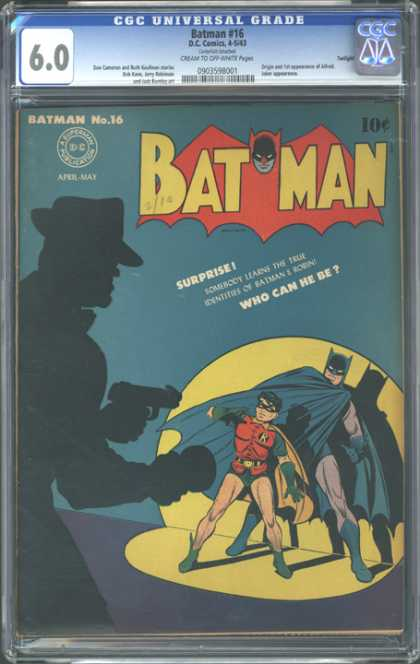 CGC Graded Comics - Batman #16 (CGC)