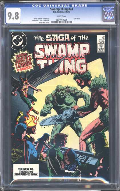 CGC Graded Comics - Swamp Thing #24 (CGC)