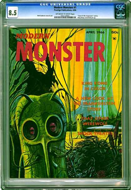 CGC Graded Comics - Modern Monsters #1 (CGC)