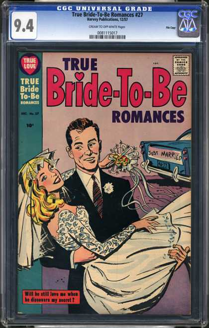 CGC Graded Comics - True Bride-To-Be Romances #27 (CGC)