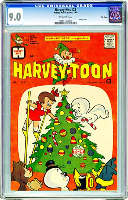 CGC Graded Comics - Harvey Hits #29 (CGC)